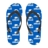Full Color Flip Flops-Signature Mark
