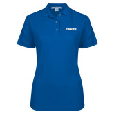Ladies Easycare Royal Pique Polo-Eagles