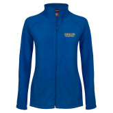 Ladies Fleece Full Zip Royal Jacket-Grandma