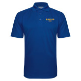 Royal Textured Saddle Shoulder Polo-Dad
