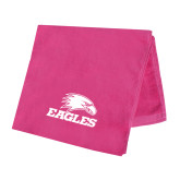 Pink Beach Towel-Eagles