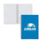 Clear 7 x 10 Spiral Journal Notebook-Signature Mark