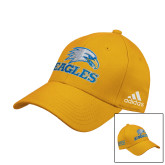 Adidas Gold Structured Adjustable Hat-Eagles
