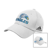 Adidas White Structured Adjustable Hat-Eagles