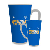 Full Color Latte Mug 17oz-2017 Mens National Champions Soccer
