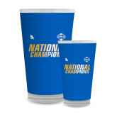 Full Color Glass 17oz-2017 Mens National Champions Soccer