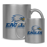 Full Color Silver Metallic Mug 11oz-Signature Mark