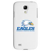 White Samsung Galaxy S4 Cover-Signature Mark