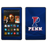 Kindle Fire Skin-P Penn Stacked