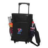 30 Can Black Rolling Cooler Bag-Split P