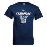 Navy T Shirt-2016 Ivy League Womens Basketball Champions