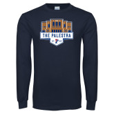 Navy Long Sleeve T Shirt-The Palestra
