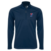 Syntrel Navy Interlock 1/4 Zip-Split P