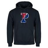 Navy Fleece Hoodie-Split P
