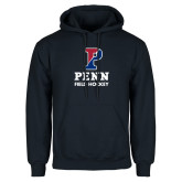 Navy Fleece Hoodie-Field Hockey
