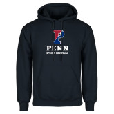 Navy Fleece Hoodie-Sprint Football