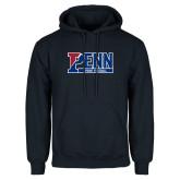 Navy Fleece Hoodie-Penn Sprint Football