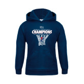 Youth Navy Fleece Hood-2016 Ivy League Womens Basketball Champions