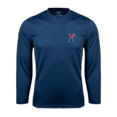 Syntrel Performance Navy Longsleeve Shirt-Split P