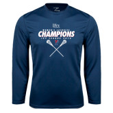 Syntrel Performance Navy Longsleeve Shirt-2016 Ivy League Womens Lacrosse Champions