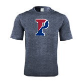 Performance Navy Heather Contender Tee-Split P