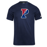 Russell Core Performance Navy Tee-Split P