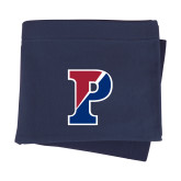 Navy Sweatshirt Blanket-Split P