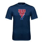 Syntrel Performance Navy Tee-Fear The P