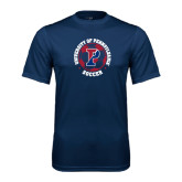 Syntrel Performance Navy Tee-Soccer Circle