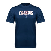 Syntrel Performance Navy Tee-Quakers Track & Field