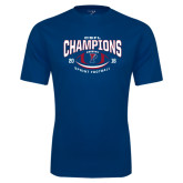 Syntrel Performance Navy Tee-2016 CSFL Champions Sprint Football