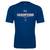 Syntrel Performance Navy Tee-2016 Ivy League Football Champions