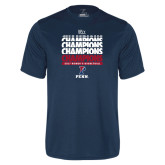 Syntrel Performance Navy Tee-2017 Ivy League Womens Basketball Champions
