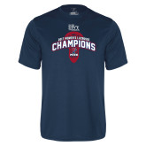Syntrel Performance Navy Tee-2017 Ivy League Womens Lacrosse Champions