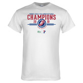 White T Shirt-2019 Womens Track and Field Champions