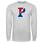 White Long Sleeve T Shirt-Split P