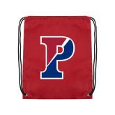 Cardinal Drawstring Backpack-Split P