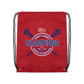 Cardinal Drawstring Backpack-2018 Womens Lacrosse Championship