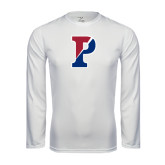 Syntrel Performance White Longsleeve Shirt-Split P