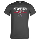 Charcoal T Shirt-2019 Womens Track and Field Champions