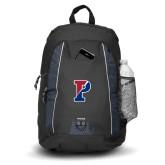 Impulse Black Backpack-Split P