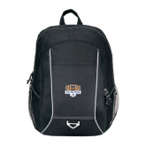 Atlas Black Computer Backpack-The Palestra
