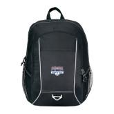 Atlas Black Computer Backpack-Franklin Field