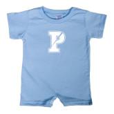 Light Blue Infant Romper-Split P