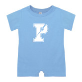 Light Blue Infant Romper-Split P