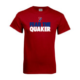 Cardinal T Shirt-Fear The Quaker