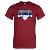 Cardinal T Shirt-Franklin Field
