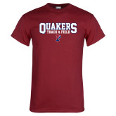 Cardinal T Shirt-Quakers Track and Field