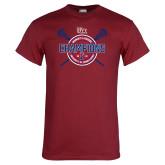 Cardinal T Shirt-2018 Womens Lacrosse Championship