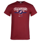 Cardinal T Shirt-2019 Womens Track and Field Champions